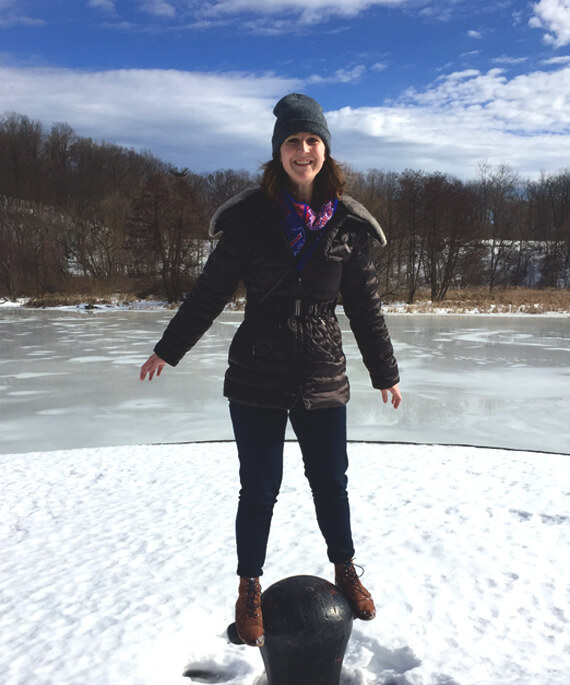 Emily Hessney welcomes spring and loves exploring all the ROC parks.