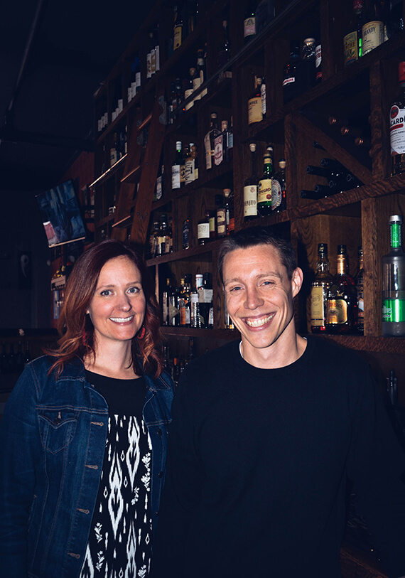 Restauranteurs Kelly & Aaron share their story of seized opportunities and Rochester love.