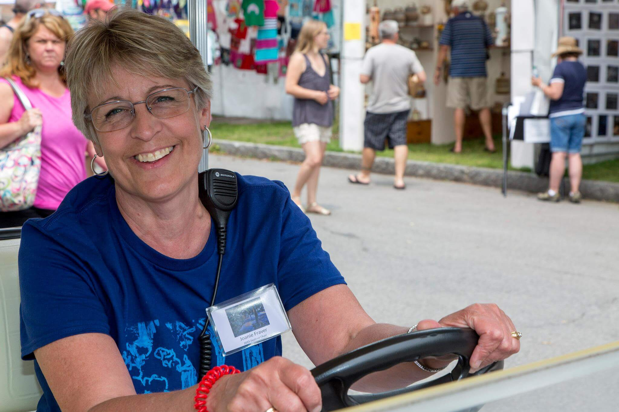 Corn Hill Arts Festival Chair Joanie Fraver revels in Rochester's historical significance.