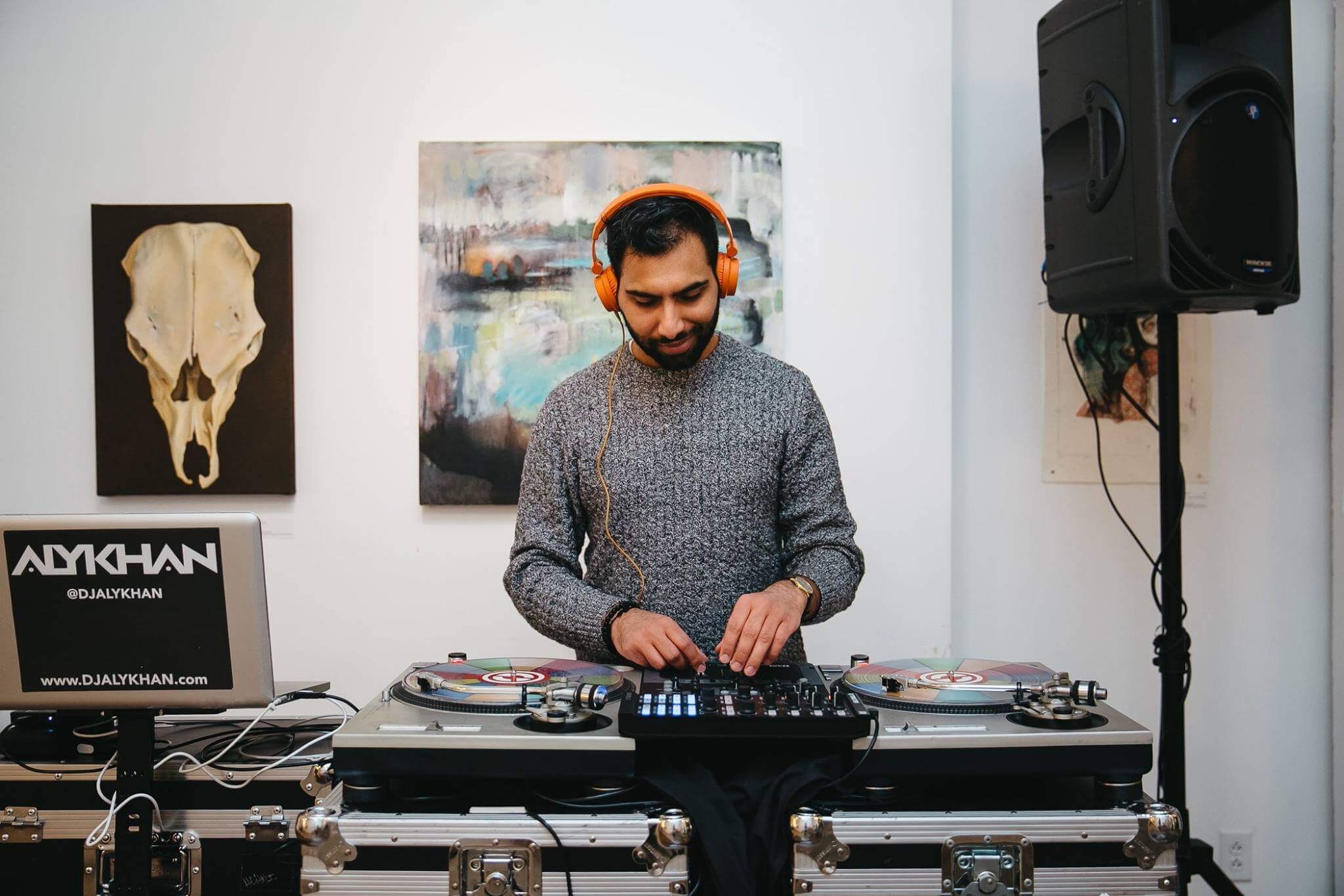 DJ Alykhan encourages you to be a part of Rochester's engaging nightlife.