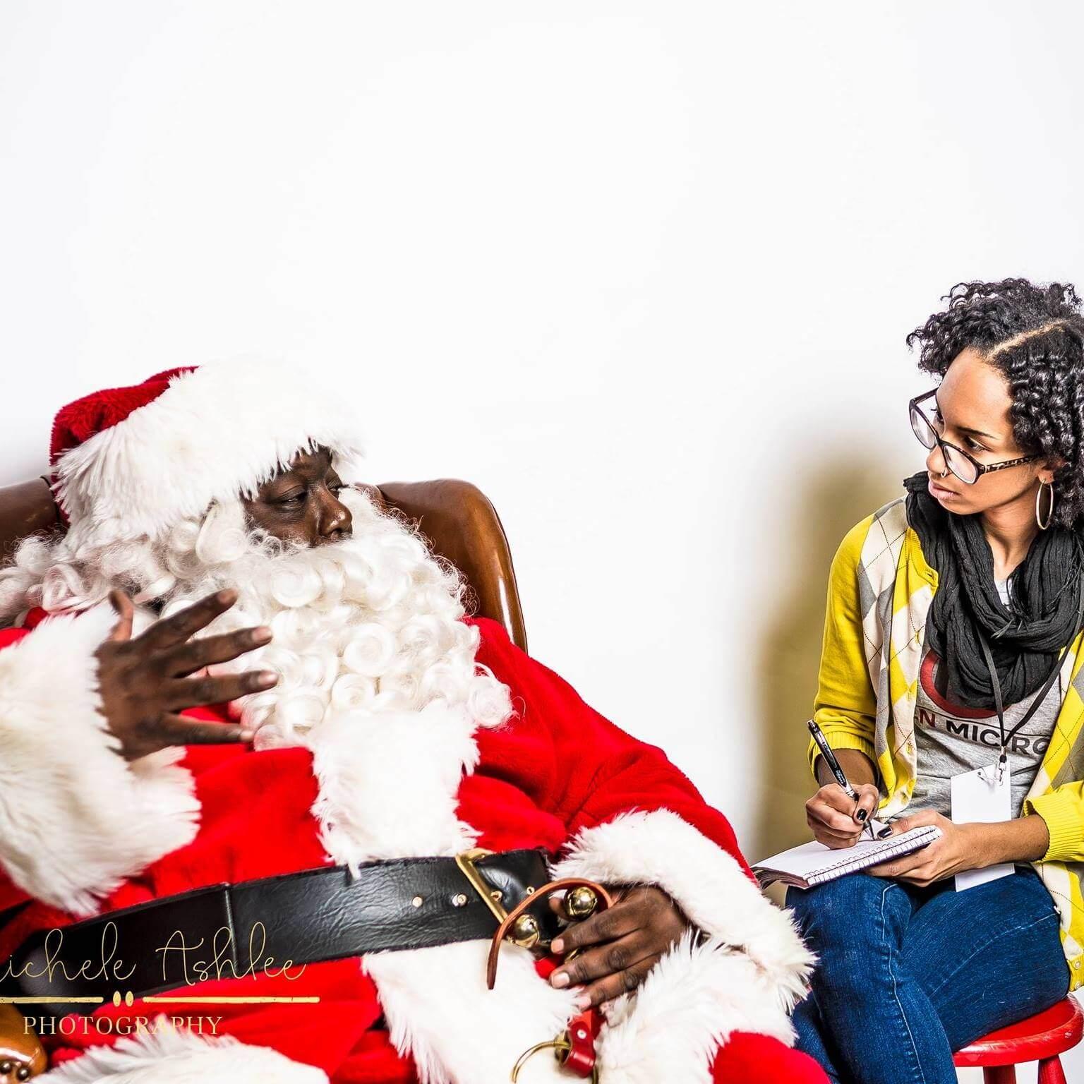 2 - Black Santa
