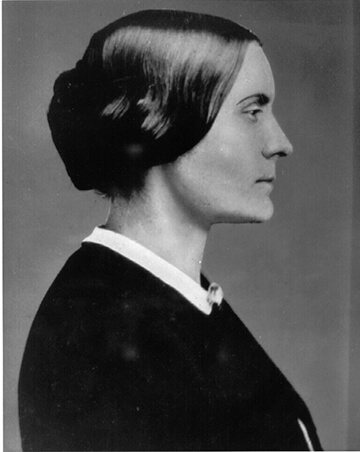 Women's rights activist and rebel Susan B. Anthony inspires us to continue to fight for what we believe in.