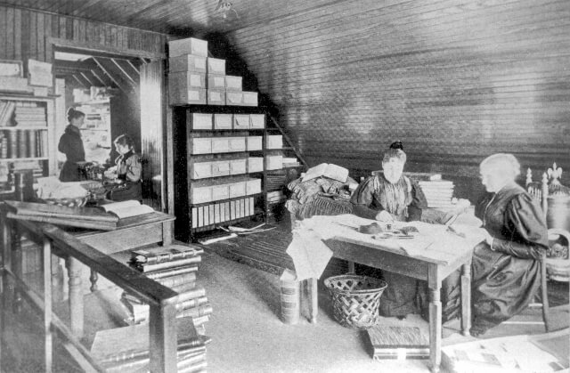 5 - attic workroom