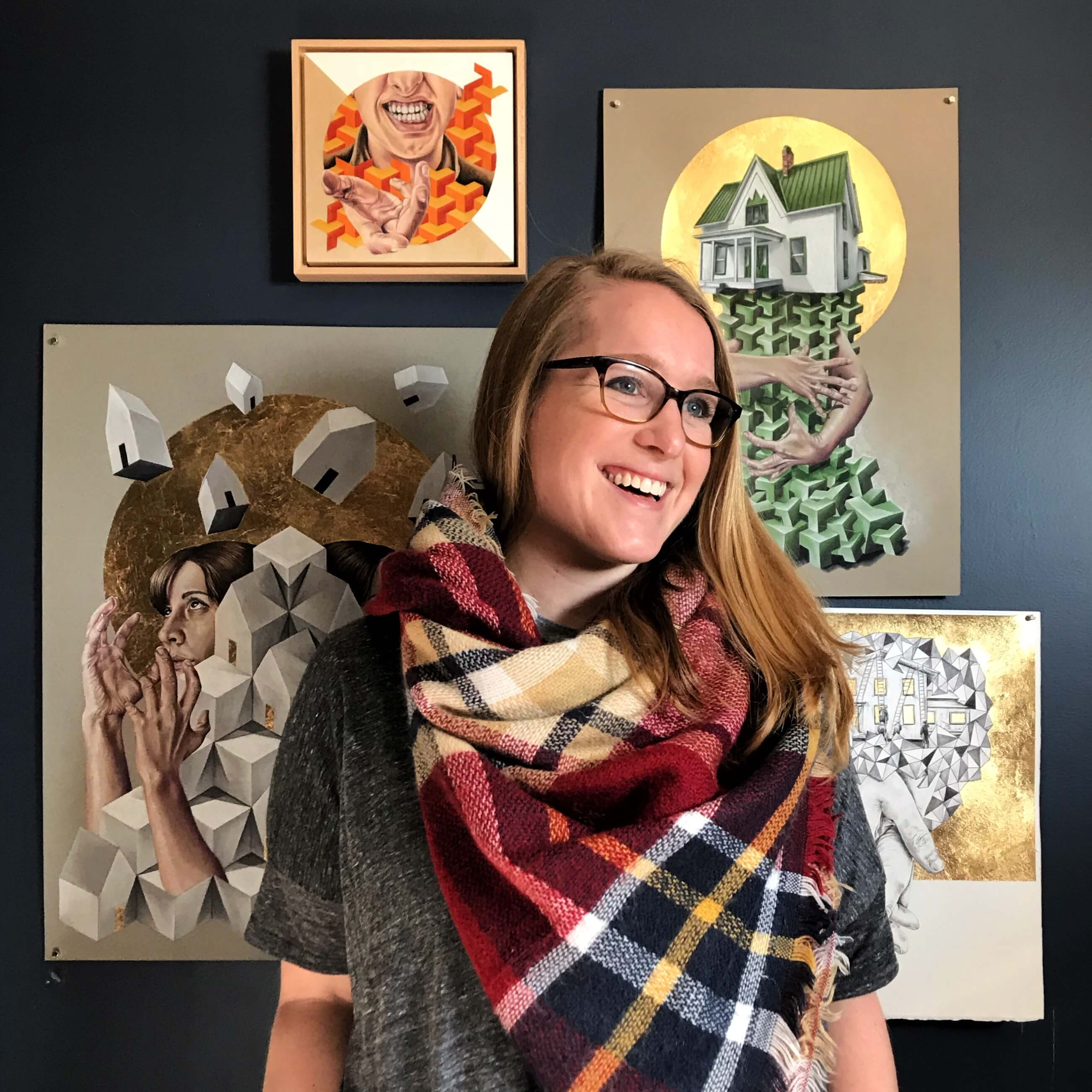 Artist Mandi Antonucci is inspired by nature, art galleries, and bookstores